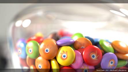 Blender's candies by krypt77