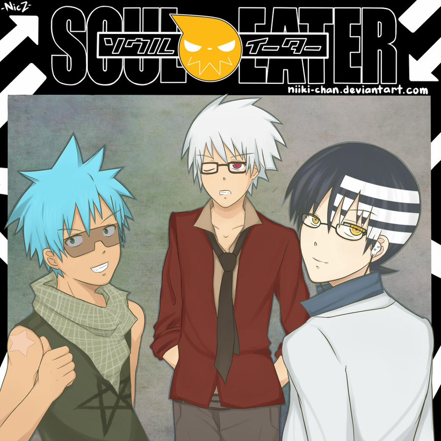 soul eater the boys by niiki-chan