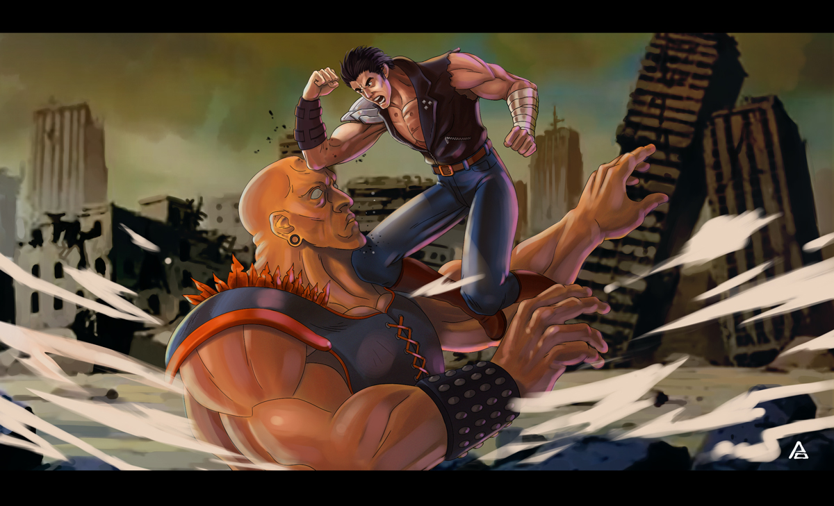 Kenshiro by kabezon23