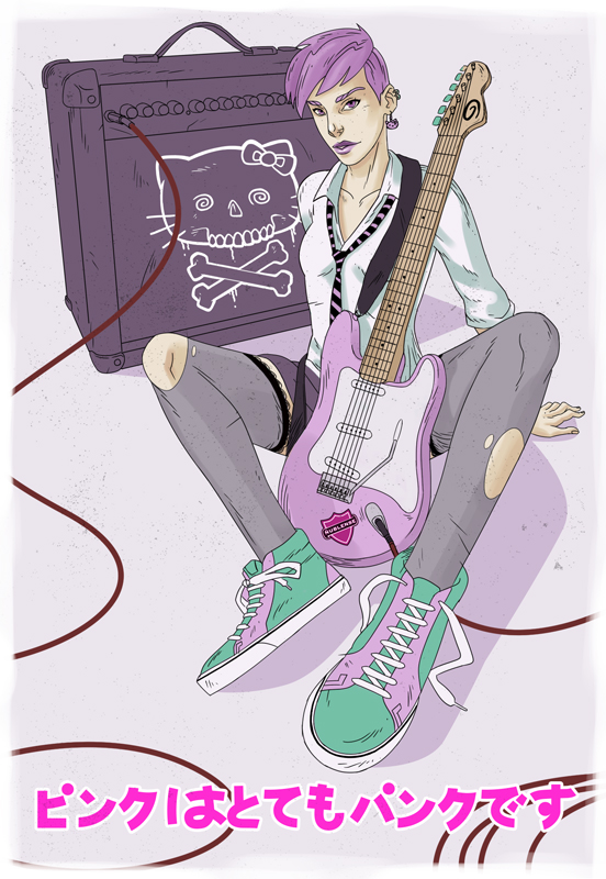 Pinkpunk by kabezon23