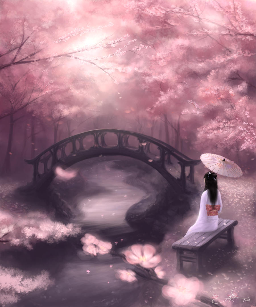 Cherry Blossoms by GenjiLim