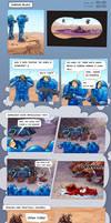 SC2 Comic - Marine Blues