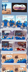 SC2 Comic - Marine Blues by GenjiLim