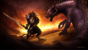 Charr vs Dragon
