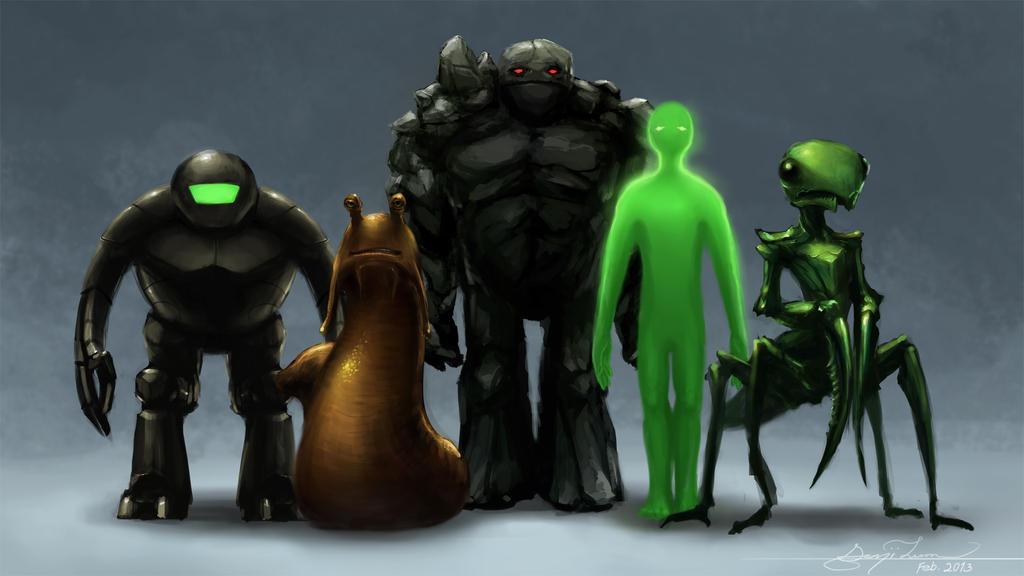 FTL lineup by GenjiLim