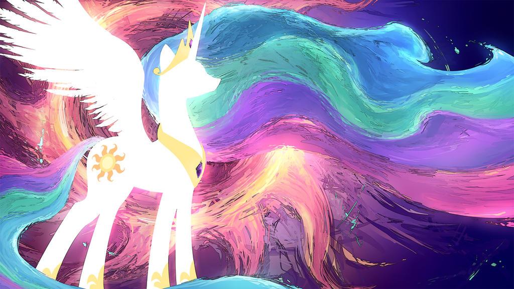 Celestia Wallpaper by GenjiLim