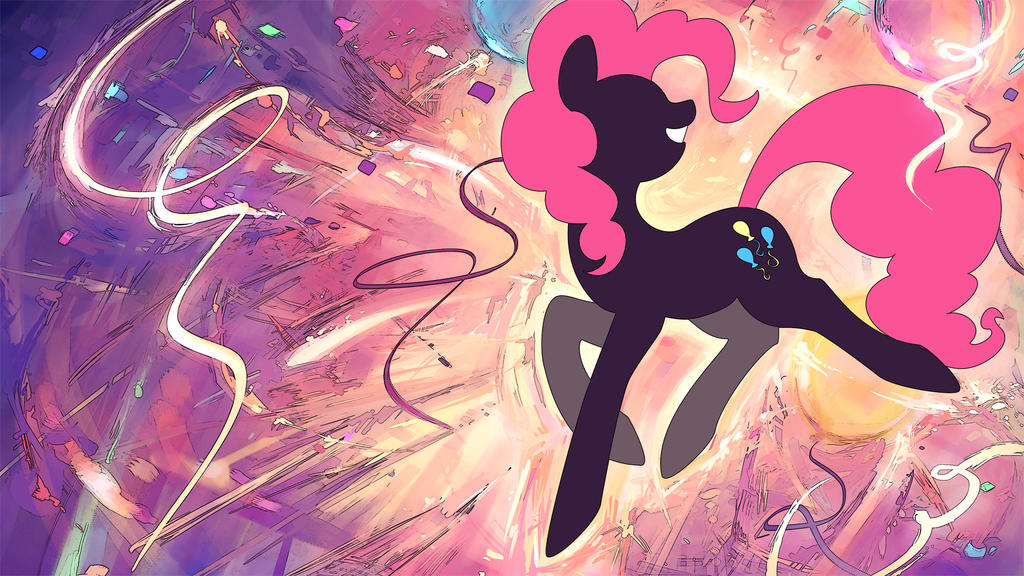 Pinkie Pie Wallpaper by GenjiLim