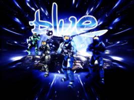 Red vs Blue Wall: Blue Team by FallenAngel1991