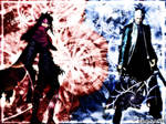 Vincent and Vergil Wallpaper