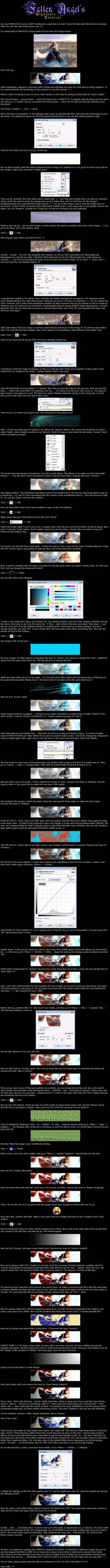 Complete GIMP Beginner's Tut