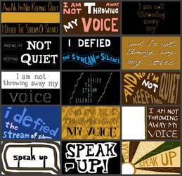Lyric Frames from 'My Voice'