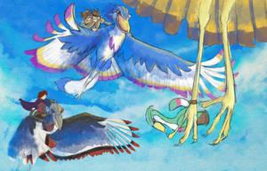 Birdy Race! by BriMercedes