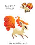 Pokemon Fusion: Ponypix