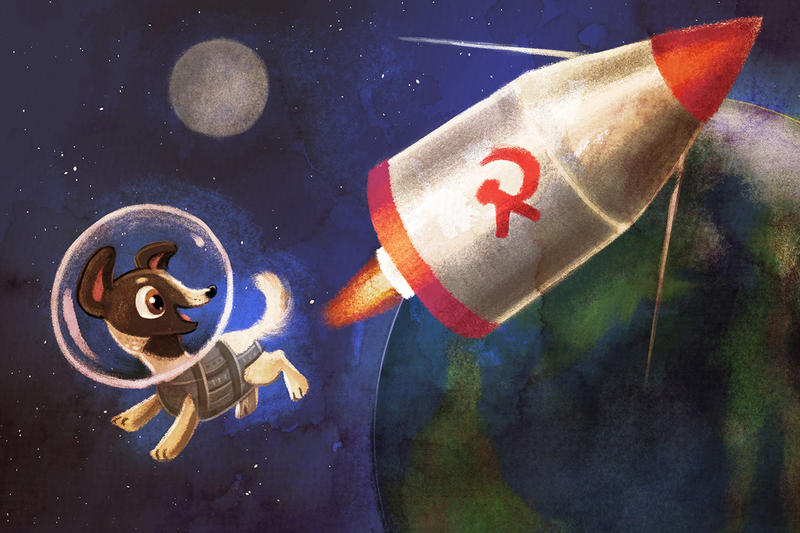 Space Adventure Laika by BriMercedes