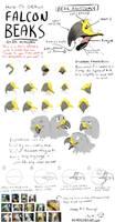 Tutorial: How To Draw Falcon Beaks