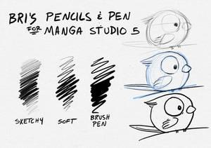 Pen/Pencils - Manga Studio 5 / Clip Studio Paint