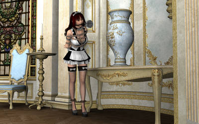 Overqualified Maid 2/5 by revpeng