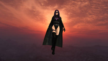 Merlin, The Mysterious Masked Superheroine