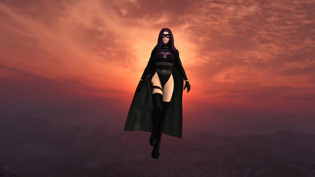 Merlin, The Mysterious Masked Superheroine