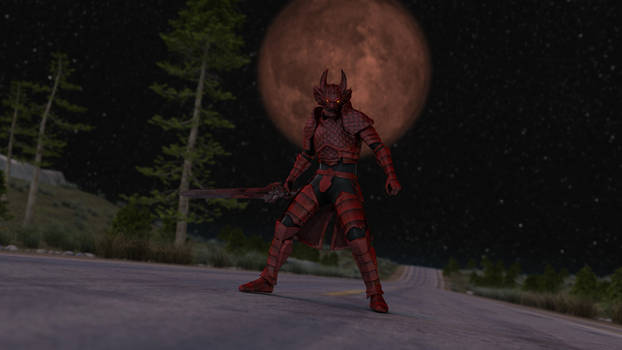 Reno, The Last Knight of The Blood Moon