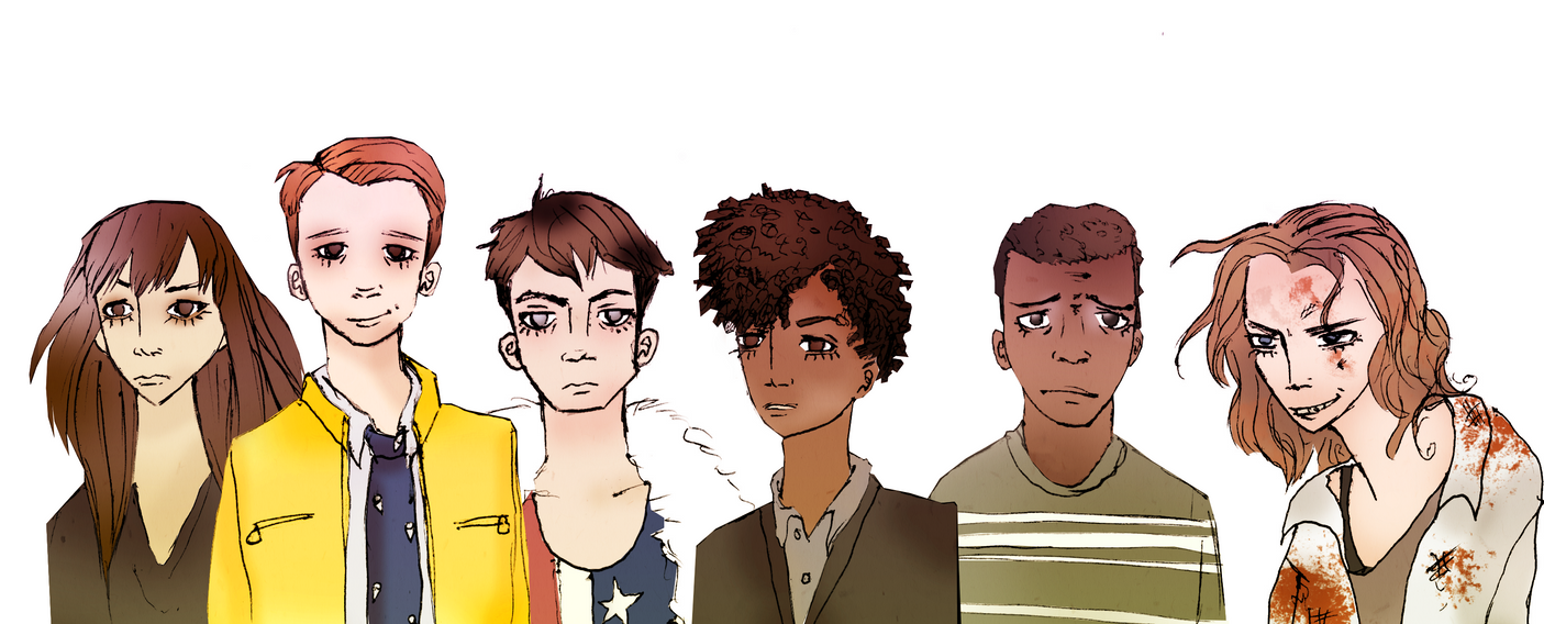 Dirk Gently: Lineup by FieldOfHatsCosplay