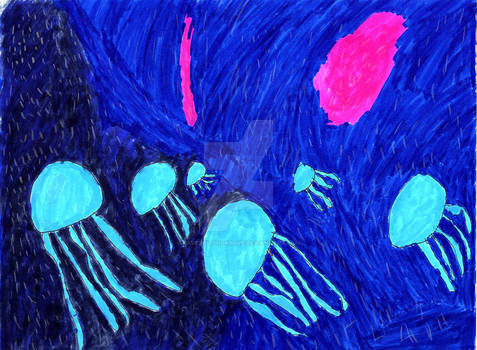 Space Jelly Fish