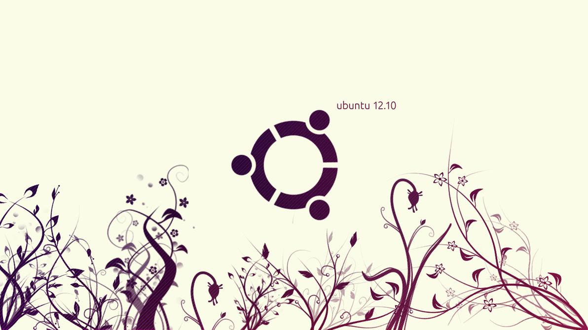 Ubuntu 12.10 Wallpaper by vladcoroeanu