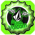 BottleCup: I love Volcom by Petrus-Emm