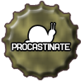 Bottlecap: Procastinate by Petrus-Emm