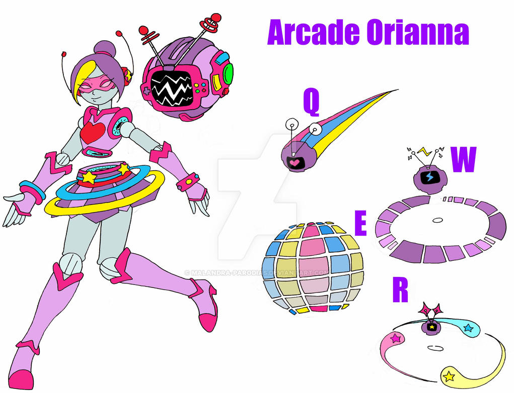 arcade orianna by emilianoroku on deviantart