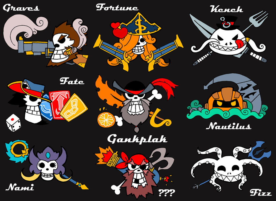 Aguas Turbias Jolly Rogers by emiliano-roku on DeviantArt