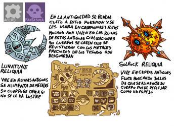 Pokemon Variante-(008) Lunatune-Solrock by emiliano-roku