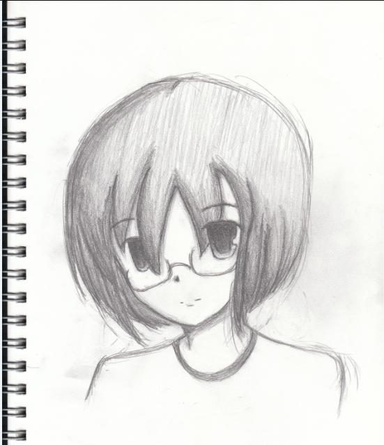 Pencil drawing by angel chiyo