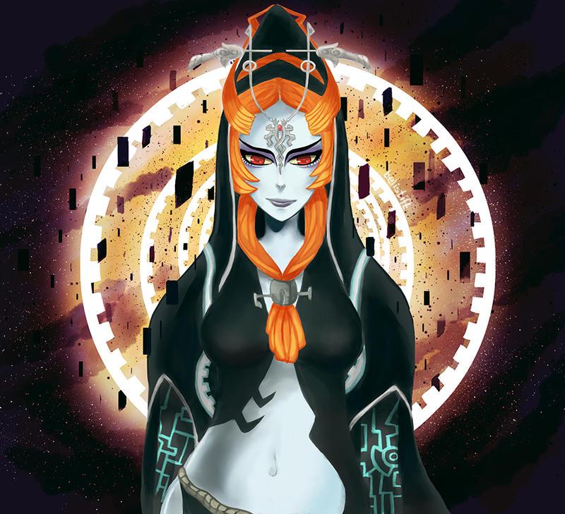 Twilight Princess Midna by belistift on DeviantArt