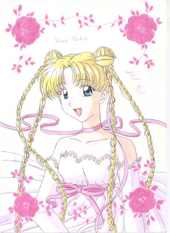 Usagi Tsukino - Sailor Moon by hikaruyuki07