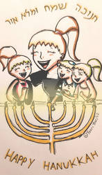 Happy Hanukkah ^^