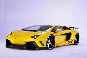 Lamborghini Avantador 2011 by KKdesigns1