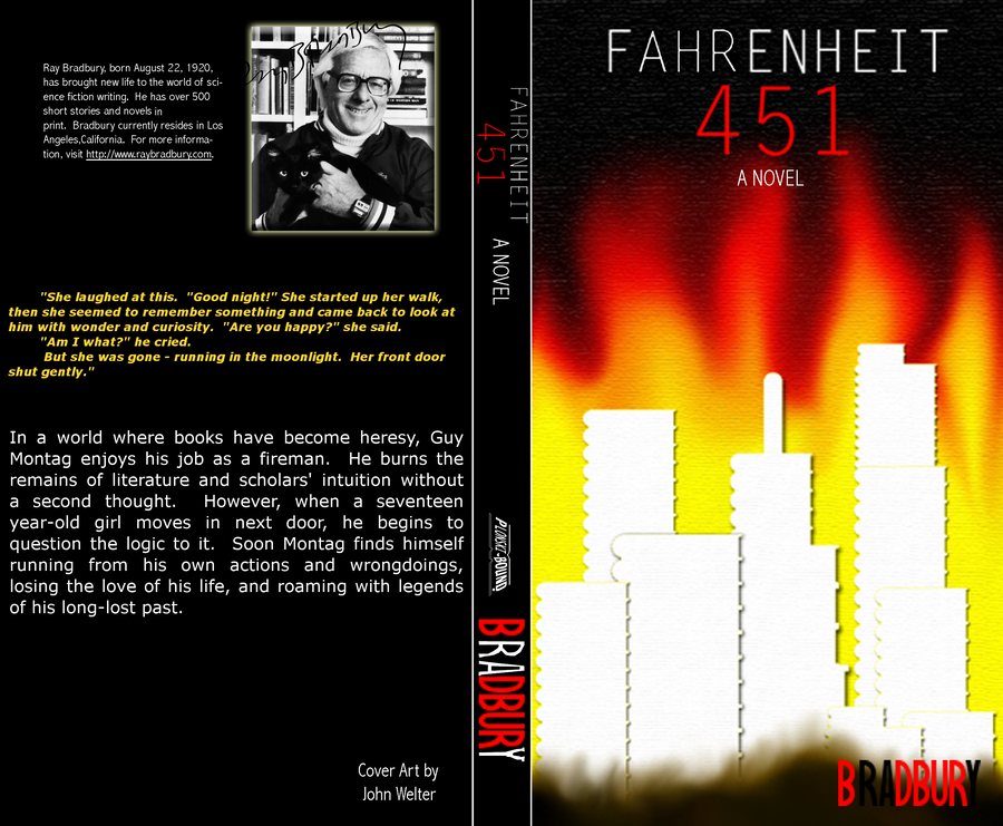 outline over fahrenheit 451 Get free homework help on ray bradbury's fahrenheit 451: book summary, chapter summary and analysis, quotes  censorship prevails over intellect.