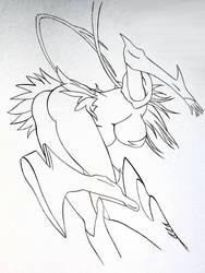 Espada 3 Ink Lines by ssjdubby