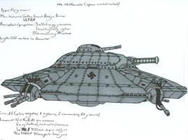 Mk. IVc Haunebu-space combat