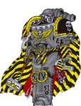 Barabas Dantioch. Warsmith of the Iron Warriors