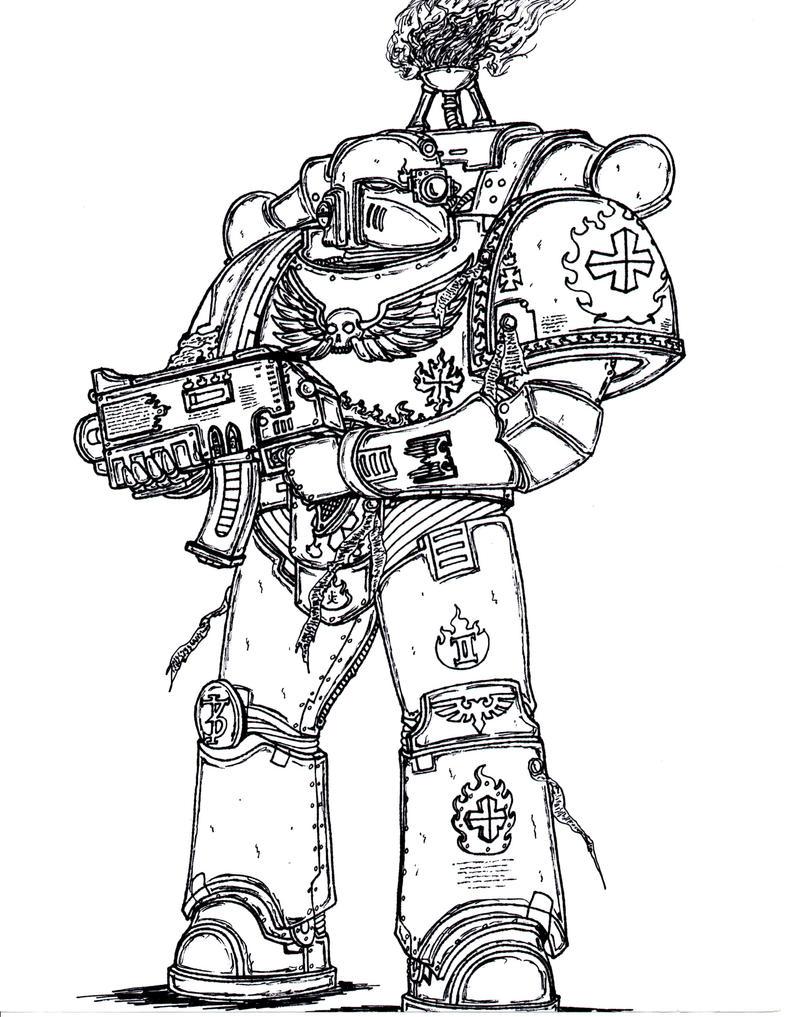 Fire Templar by terraluna5