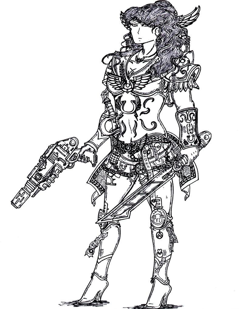 Warrior Sailor Senshi- Elite. by terraluna5