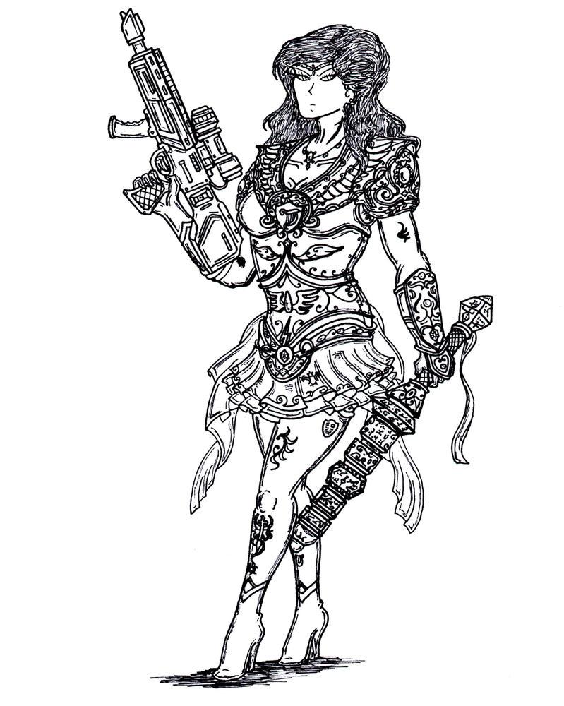 Warrior Sailor Senshi- Veteran. by terraluna5