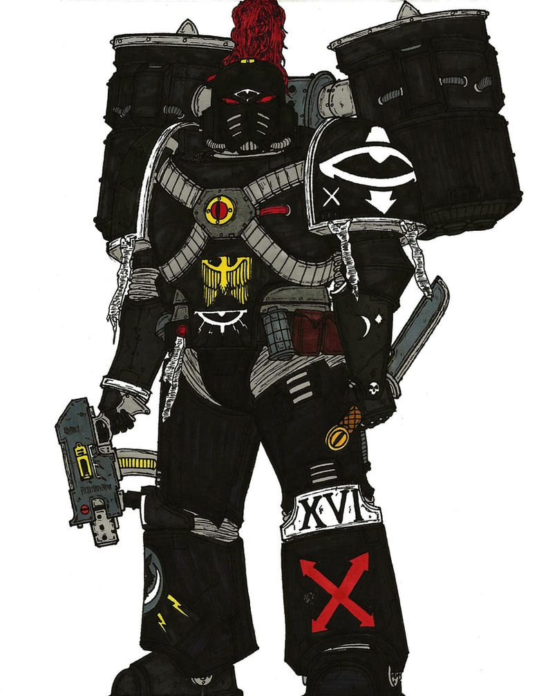 Assault Marine, Catulan Reaver Squad, XVI Legion by terraluna5