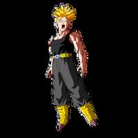 Future Trunks Super Saiyan by Dark-Crawler