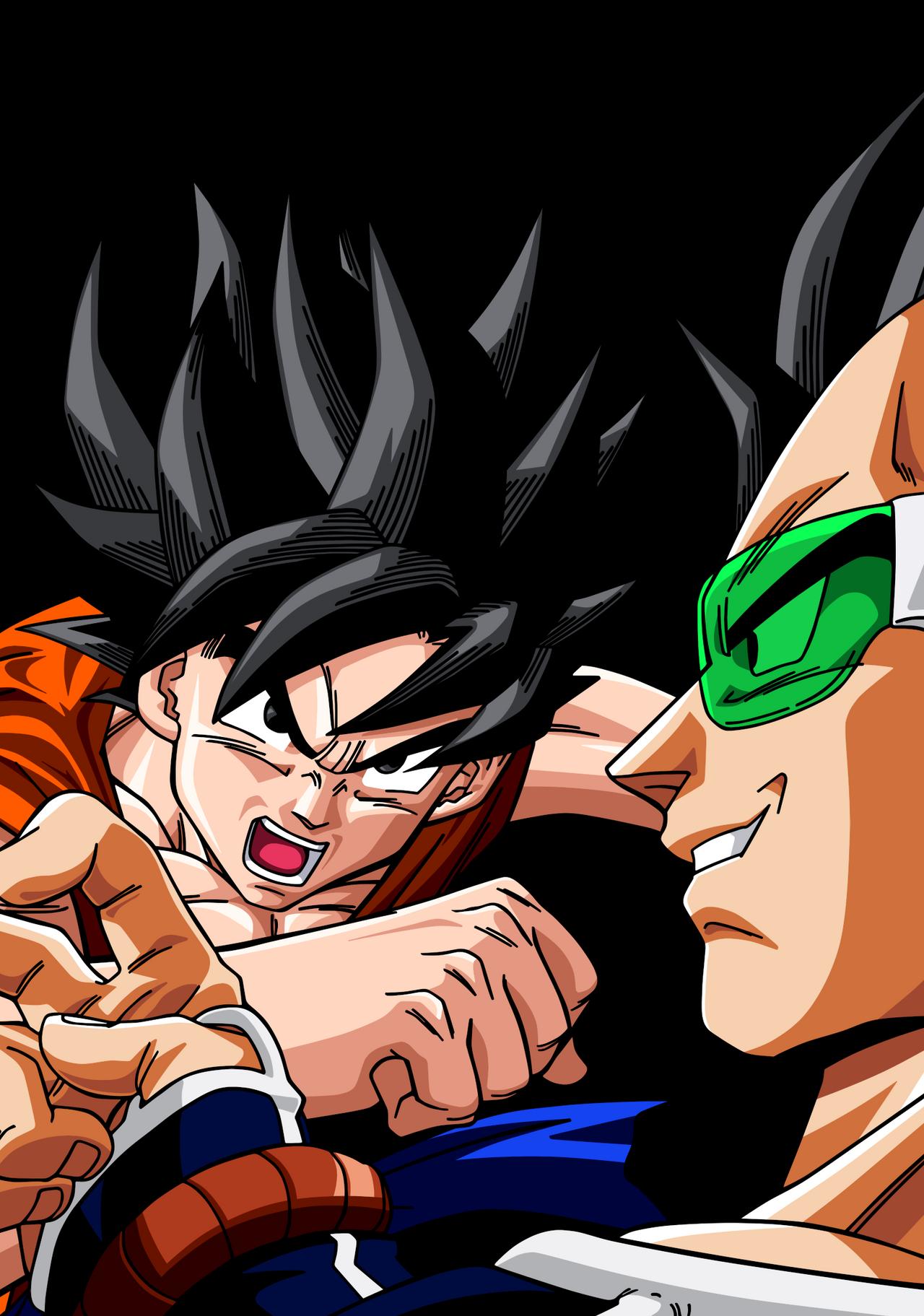 Goku Raditz Collection 10 Wallpapers