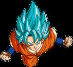 Son Goku Super Saiyan God Super Saiyan