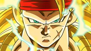 Bardock Super Saiyan 3 by Dark-Crawler