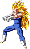Vegeta Super Saiyan 3 by Dark-Crawler